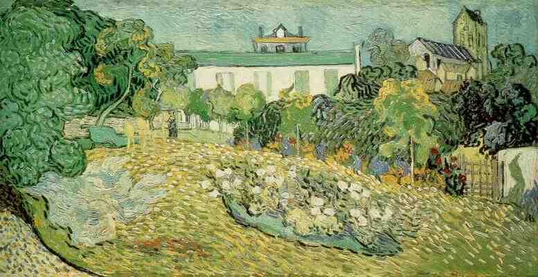 daubigny_vincent van gogh >> daubigny的花园2 | (油, 艺术品, 再现, 复制