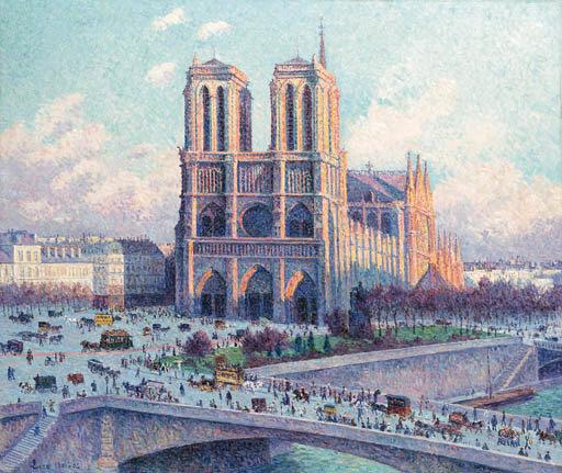 3d油画 巴黎铁塔