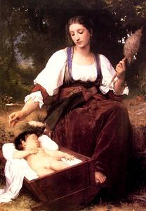 William Adolphe Bouguereau - 催眠曲