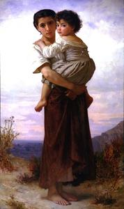 William Adolphe Bouguereau - 年轻的吉普赛