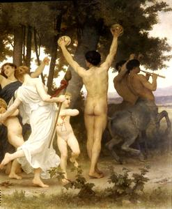 William Adolphe Bouguereau - 巴克斯青年dt的权利