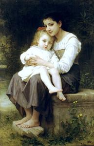 William Adolphe Bouguereau - 香格里拉SOEUR ainee