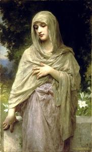 William Adolphe Bouguereau - 谦逊