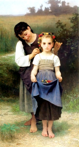 金钻领域 通过 William Adolphe Bouguereau (1825-1905, France) | 畫再現 | WahooArt.com