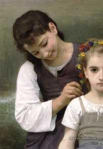 William Adolphe Bouguereau - 金钻香榭离开