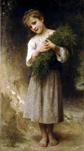 William Adolphe Bouguereau - 返回从田间地头
