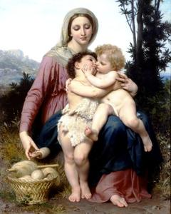William Adolphe Bouguereau - 圣家