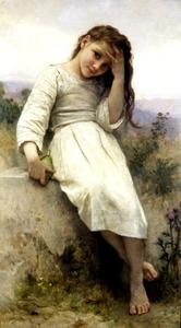 William Adolphe Bouguereau - 小掠夺者1900