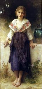 William Adolphe Bouguereau - 休息一会儿