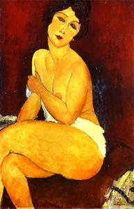 Amedeo Modigliani - 坐在裸体的合集