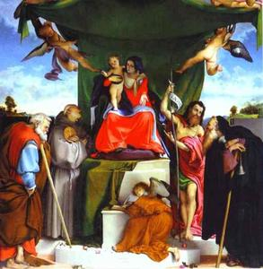 Lorenzo Lotto - 三Bernandino祭坛