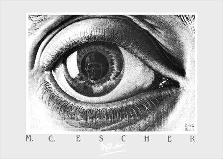 埃舍尔 Mc奥热 平版印刷术 通过 Maurits Cornelis Escher 1898 1972