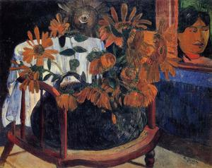 Paul Gauguin - 向日葵