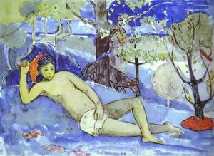 Paul Gauguin - 特 arii vahine ( 女王 )