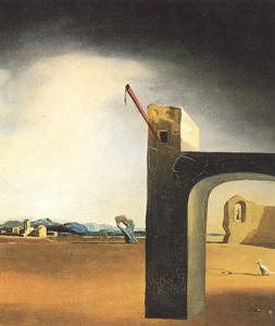 Salvador Dali - -Morphological Echo- , 大约 1936