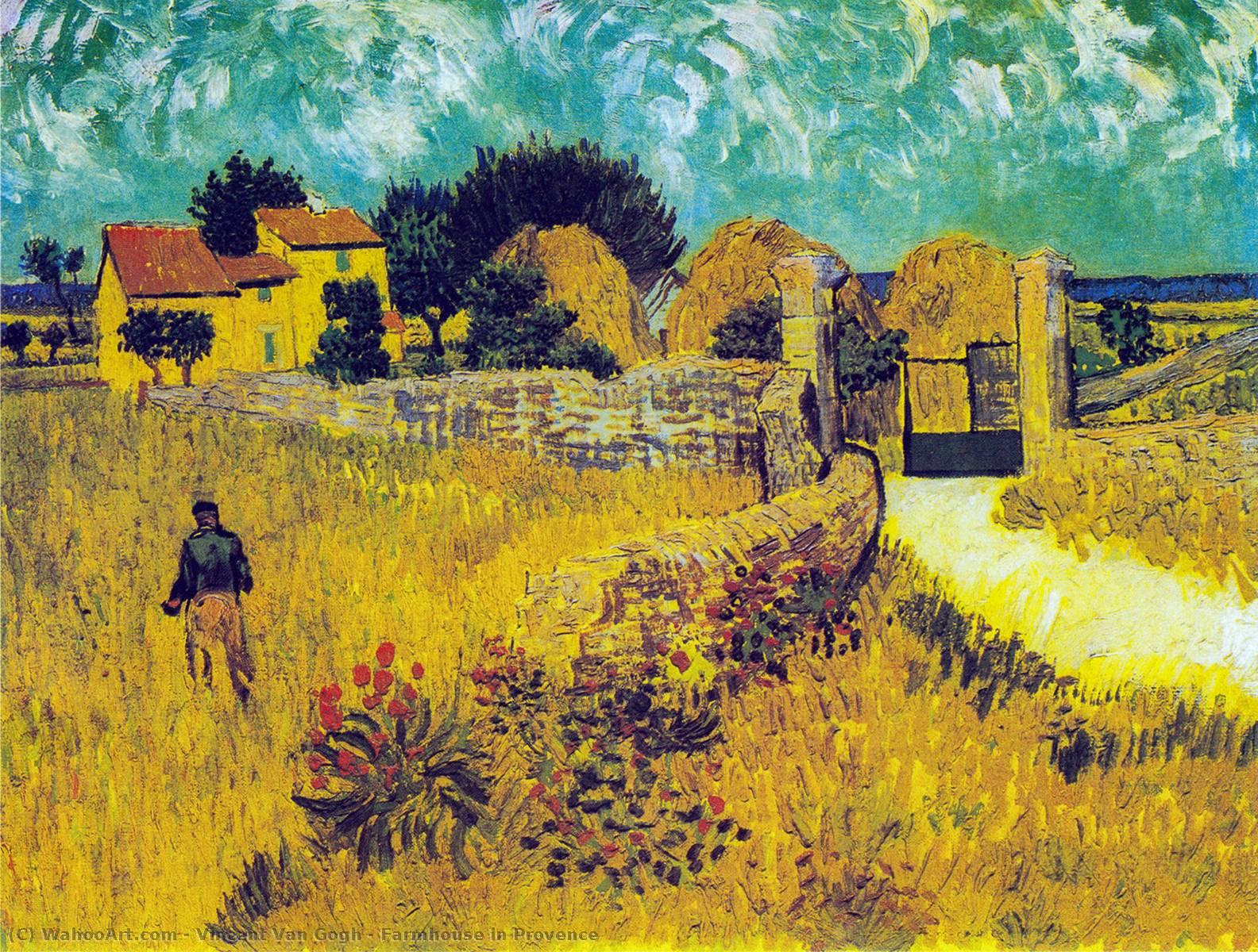 普罗旺斯风景画油画