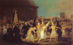 Francisco De Goya - Flagellants的游行
