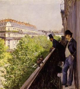 Gustave Caillebotte - 一个 阳台