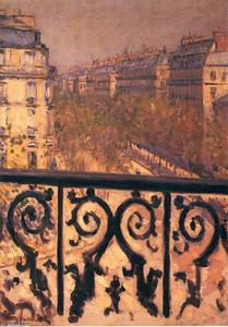 Gustave Caillebotte - 巴黎的阳台