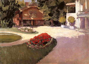 Gustave Caillebotte - 花园Yerres