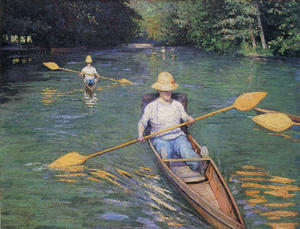 Gustave Caillebotte - scolls