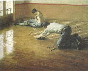 Gustave Caillebotte - 地板刮板