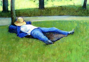 Gustave Caillebotte - 在午睡