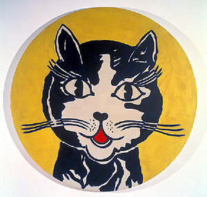 Roy Lichtenstein - 笑猫