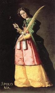 Francisco Zurbaran - 圣阿波罗尼亚