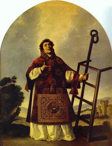 Francisco Zurbaran -  st.  劳伦斯