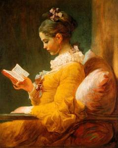 Jean-Honoré Fragonard - 读者