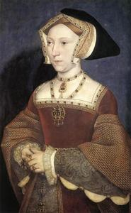 Hans Holbein The Younger - 简西摩,英国女王