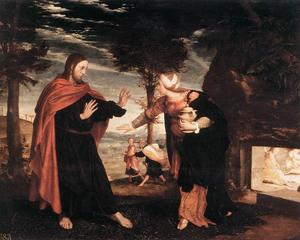 Hans Holbein The Younger - 诺利我Tangere