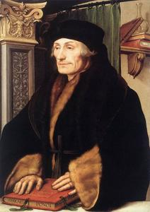Hans Holbein The Younger - 肖像鹿特丹的伊拉斯谟
