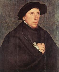 Hans Holbein The Younger - 肖像亨利·霍华德,萨里伯爵