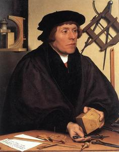 Hans Holbein The Younger - 肖像 尼古拉斯求kratzer