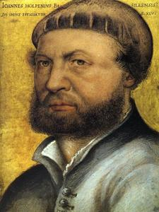 Hans Holbein The Younger - 自画像