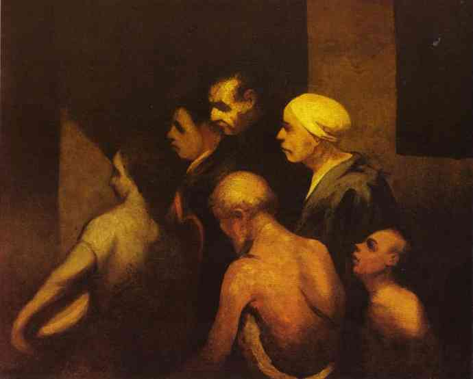 乞丐 通过 Honoré Daumier (1808-1879, France) | 傑作拷貝 | WahooArt.com