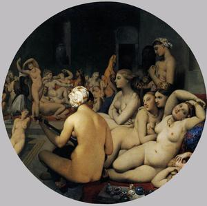 Jean Auguste Dominique Ingres - 土耳其浴