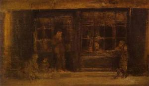 顺序 藝術再現 | 一家店, 1884 通过 James Abbott Mcneill Whistler (1834-1903, United States) | WahooArt.com