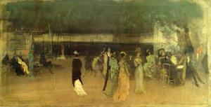 James Abbott Mcneill Whistler - 克雷蒙花园,2号