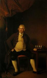 Joseph Wright Of Derby - 理查德·阿克​​莱特爵士
