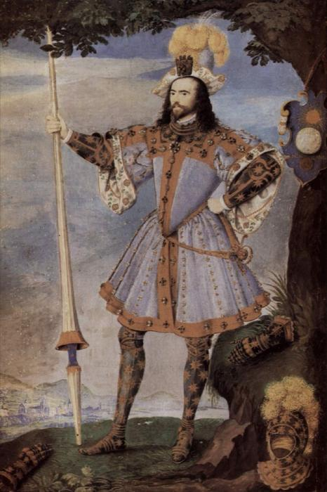 乔治·克利福德,坎伯兰3伯爵 通过 Nicholas Hilliard (1577-1619, United Kingdom) | WahooArt.com