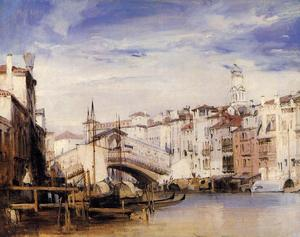 Richard Parkes Bonington - 里亚托,威尼斯