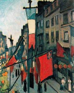 Albert Marquet - 14 `july` 在 勒阿弗尔
