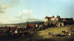 Bernardo Bellotto - Sonnenstein以上皮尔纳丰泽