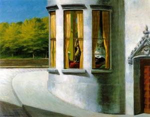 Edward Hopper - 八月 在  的  市