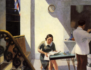 Edward Hopper - 理发店