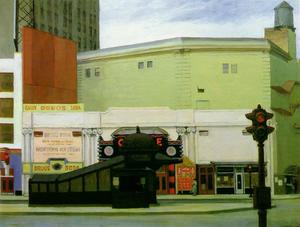 Edward Hopper - 圆 剧院