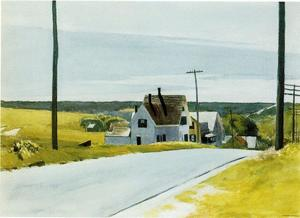 Edward Hopper -  高  道路